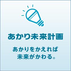 東京システムリサーチ株式会社は、「あかり未来計画」に賛同し、長持ち、省エネ、CO2カット、いいことたくさんの高効率照明に替え、地球にやさしく無理なく節電を実施しております。